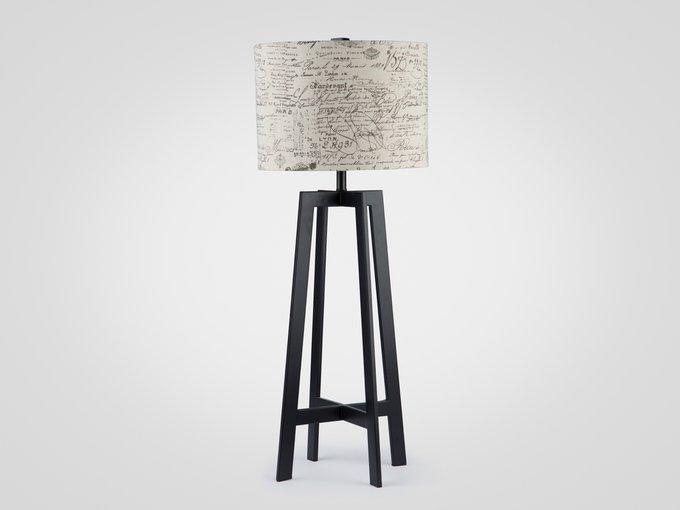 Настольная Лампа высокая на высокой металлической ножке