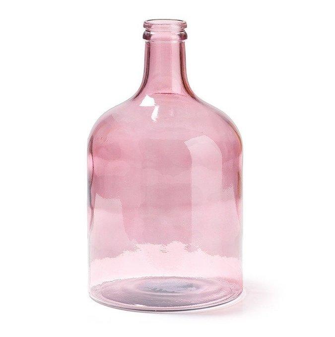 Ваза Julia Grup Semplice из переработанного подкрашенного стекла (розовый)