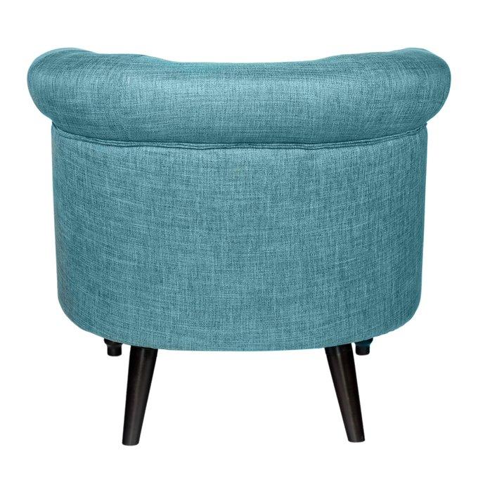 Кресло Charlotte Bronte Голубого цвета