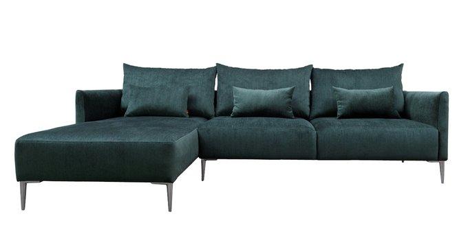 Модульный диван Frida темно-зеленого цвета