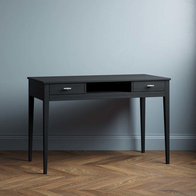 Письменный стол Ustas-1 160х80 черного цвета
