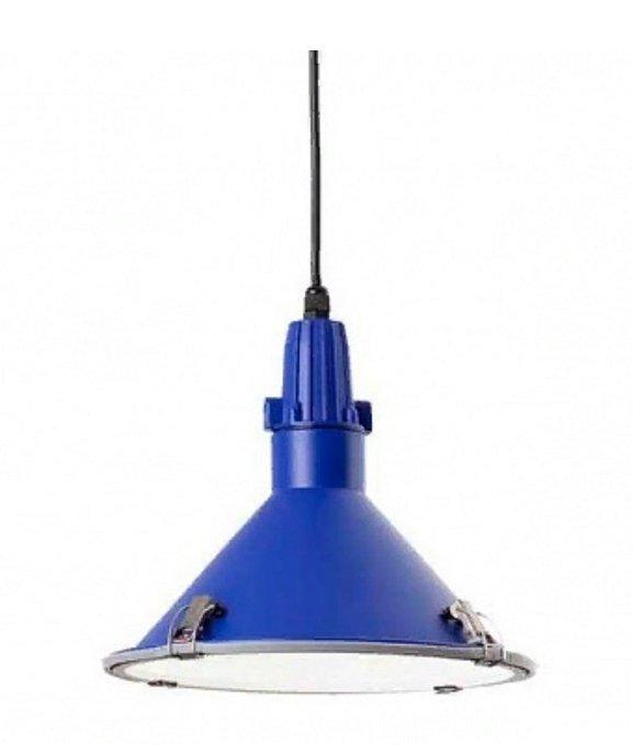 Подвесной светильник Faro Bell синий
