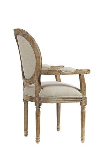 Кресло Vintage French Cane Back Round