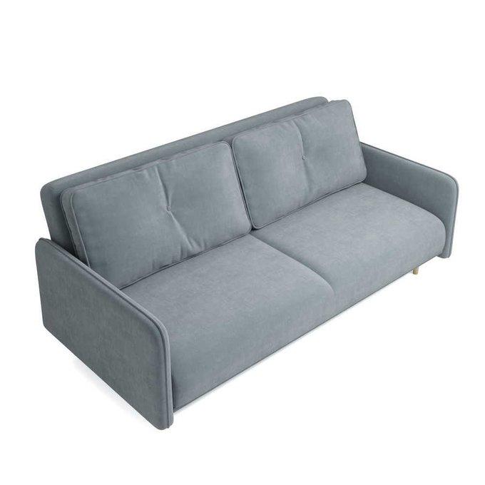Диван-кровать Блумбер серого цвета
