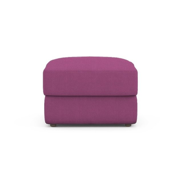 Пуф Elke пурпурного цвета