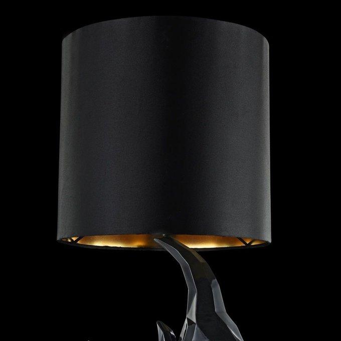 Настольная лампа Nashorn черного цвета