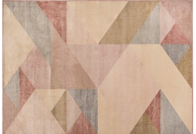 Бельгийский ковер Bauhaus с геометрическим узором 280x380