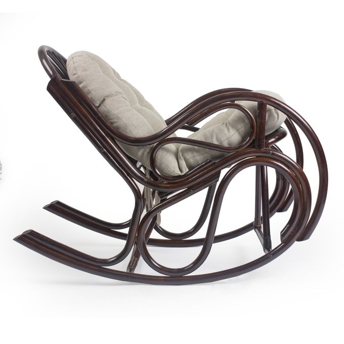 Кресло-качалка Bella орех