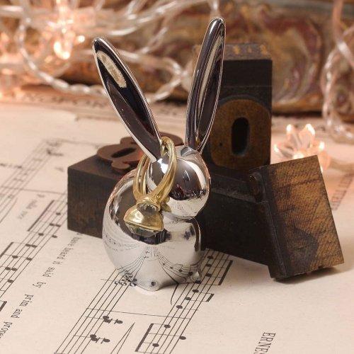Подставка для колец Umbra zoola кролик хром