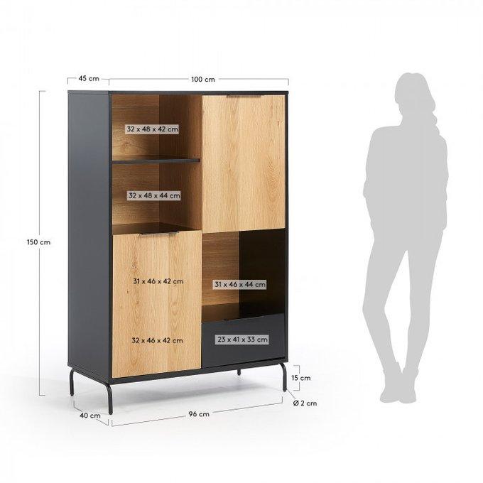 Книжный шкаф Savoi из МДФ