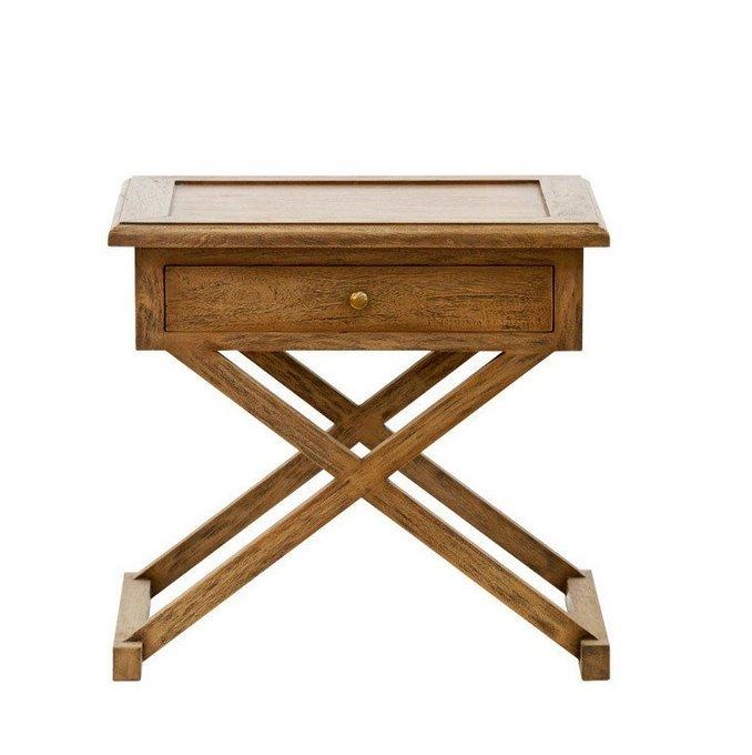 Столик с ящиком Kilmory из дерева