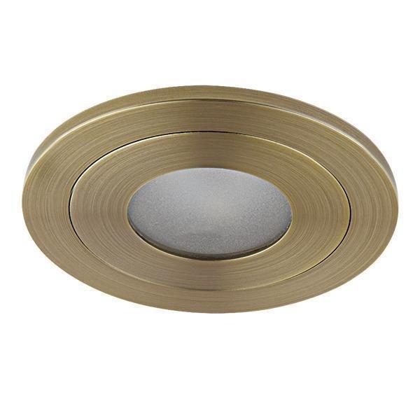 Встраиваемый светодиодный светильник Leddy бронзового цвета