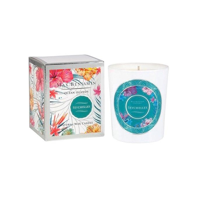 Ароматическая свеча Seychelles в подарочной упаковке