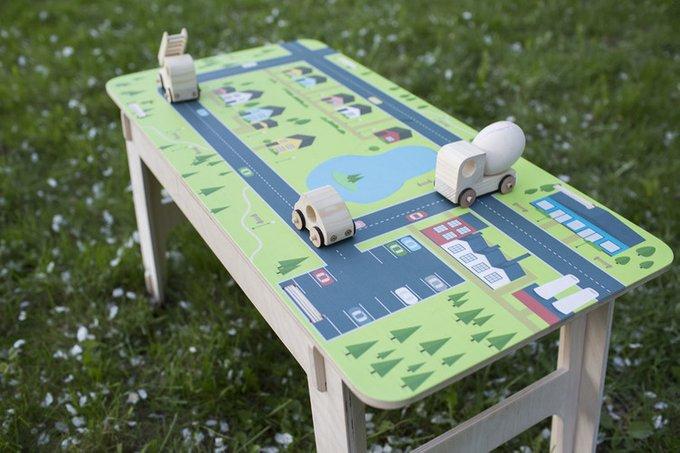 "Стол playply ""CLIC map"""