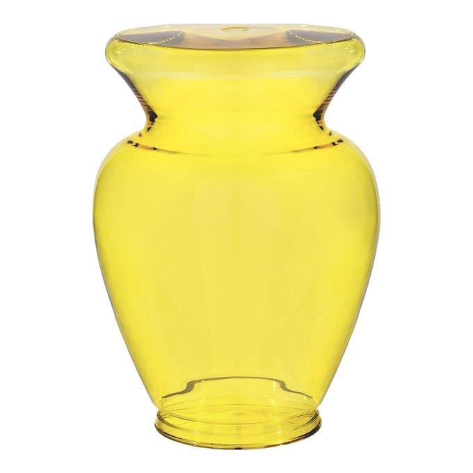 Табурет La Boheme желтого цвета