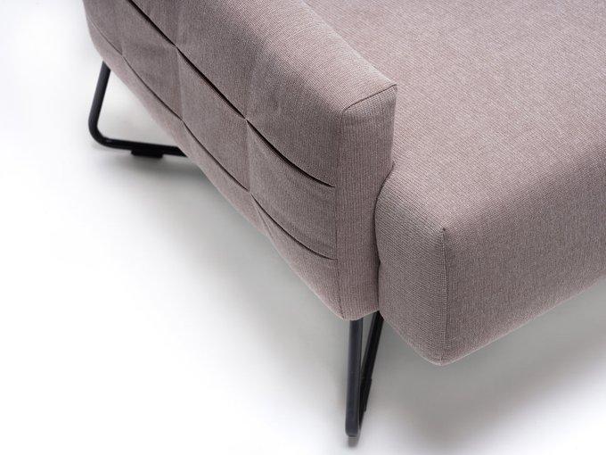 Кресло для отдыха Kado серо-бежевого цвета