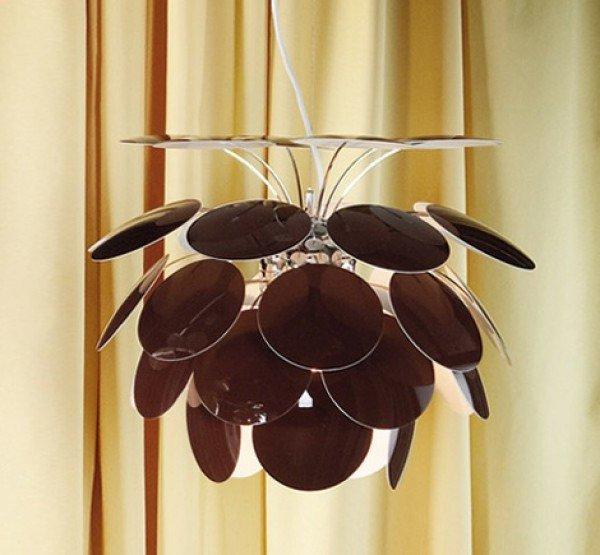Светильник подвесной Marset Discoco 53, шоколадный