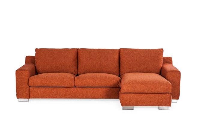 Угловой диван Copenhagen оранжевого цвета