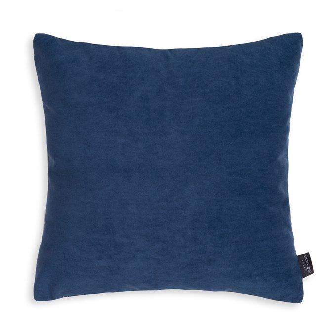 Декоративная подушка Ultra Midnight темно-синего цвета