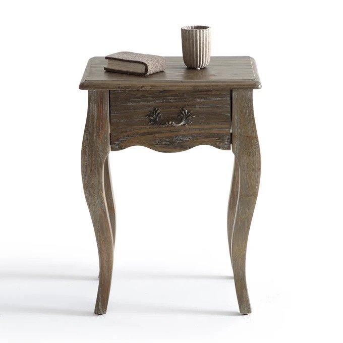 Прикроватный столик Janel с выдвижным ящиком