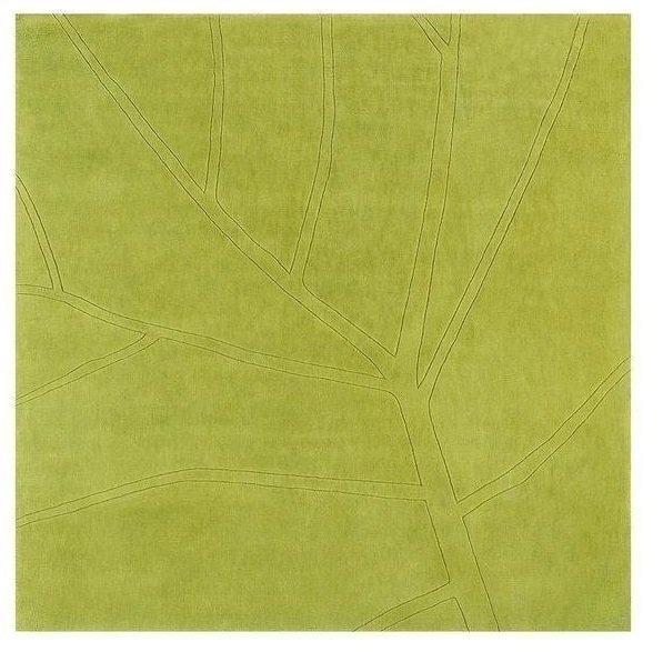Ковер Leaf серого цвета 170Х170