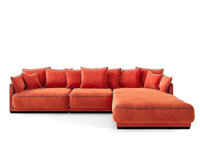 Диван Soho оранжевого цвета