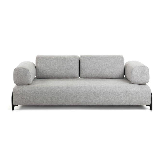 Подушка-подлокотник Compo светло-серого цвета