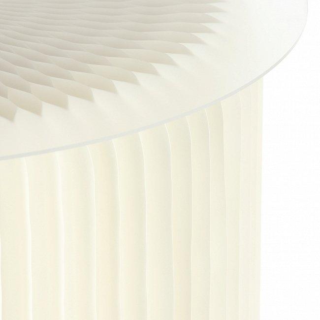 Кофейный Стол бумажный белый