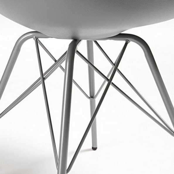 Стильный стул Julia Grup Lars серый
