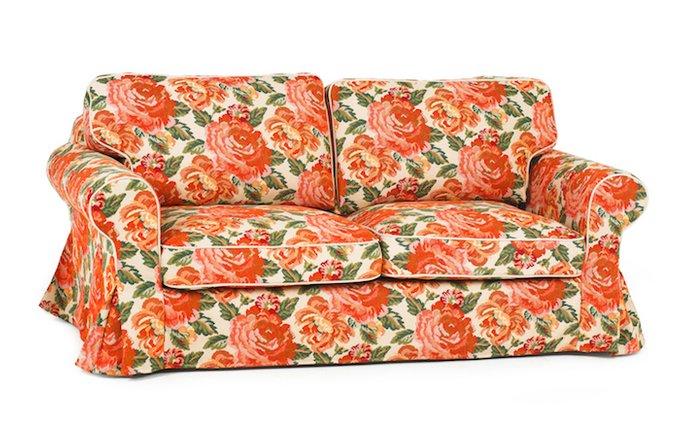 Трехместный раскладной диван Прованс