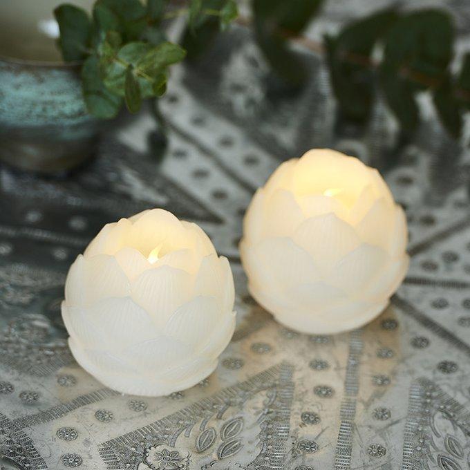 Набор из двух светодиодных свечей Helene с таймером
