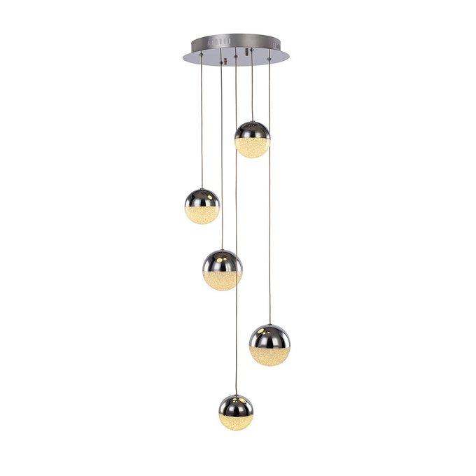 Подвесной светильник Illuminati Atomo с плафонами из полупрозрачного стекла