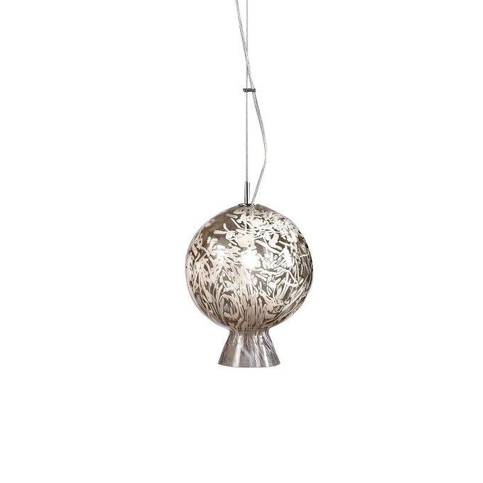 Подвесной светильник Sylcom с плафоном в виде шара из муранского стекла
