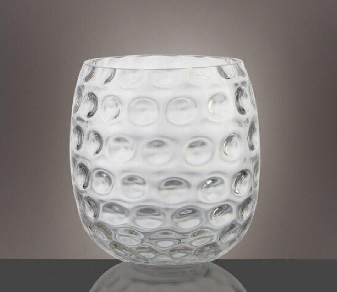Настольные вазы Sarina round Vase из стекла