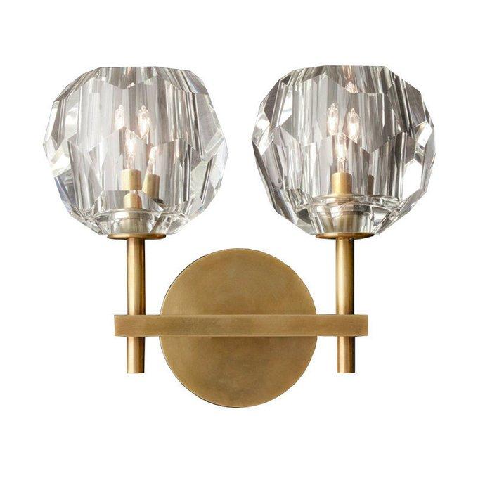 Настенный светильник Boule de cristal wall с плафонами из стекла