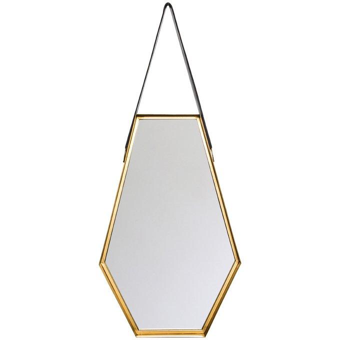 Настенное зеркало Диана на кожаном ремне