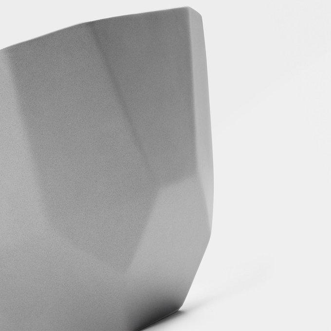 Набор из двух чаш Skar белого и серого цвета