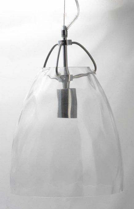 Подвесной светильник Loft с плафоном из стекла