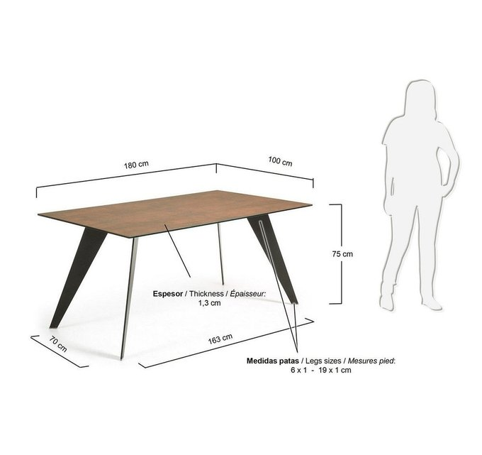 Обеденный стол Julia Grup NACK