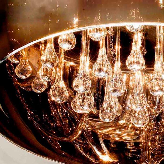 Стеклянное бра с имитацией муранского стекла Schuller ARGOS