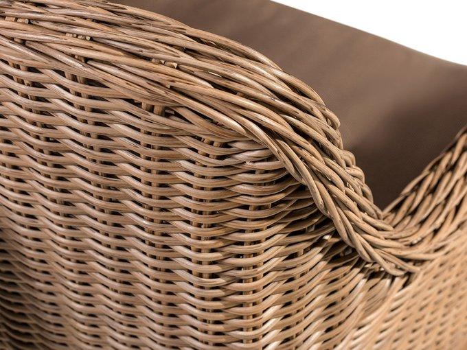 Кресло плетёное Coco Chair из искусственного ротанга