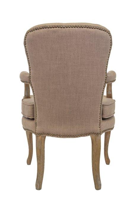 Кресло Anver бежевого цвета
