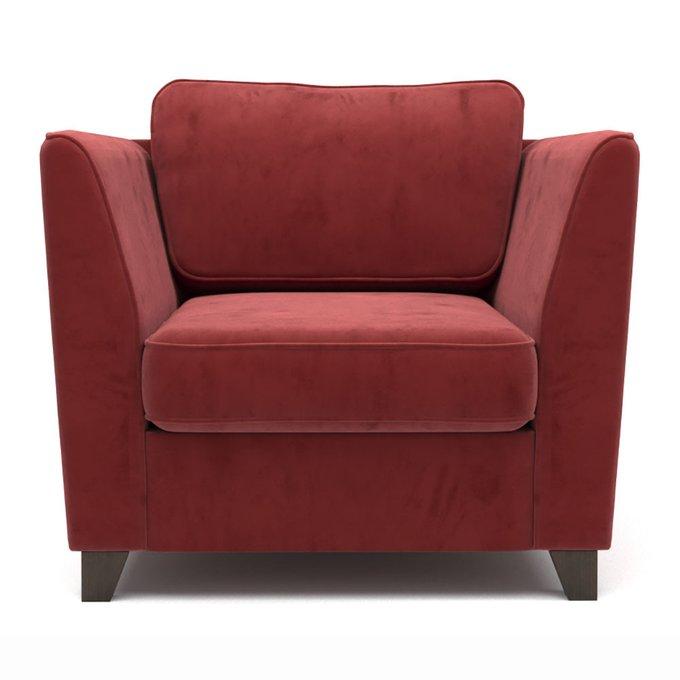Кресло Wolsly красное