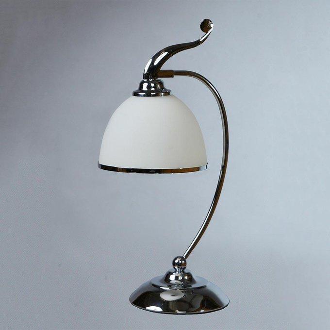 Настольная лампаChrome из металла и стекла
