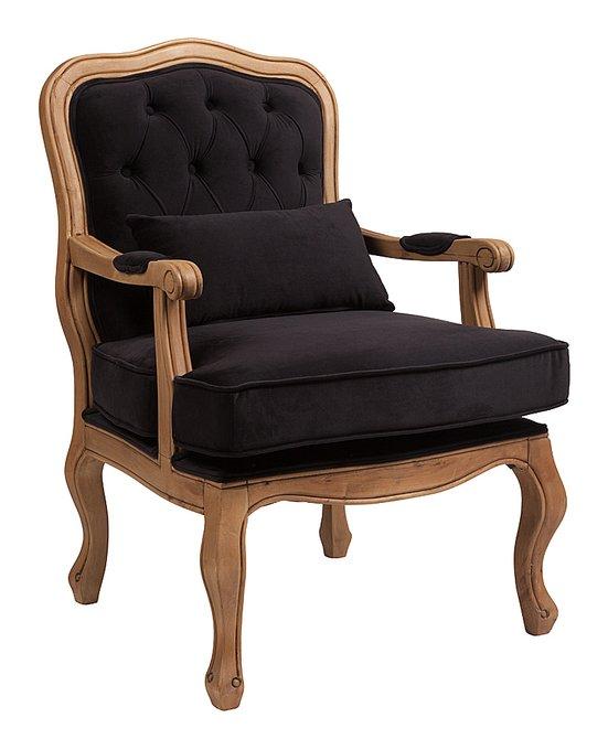 Кресло Belladonna Черный Вельвет