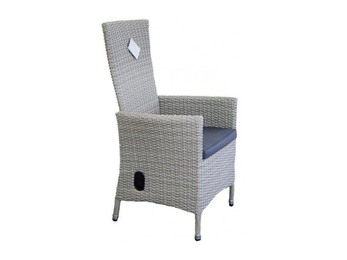 Кресло Capri серого цвет