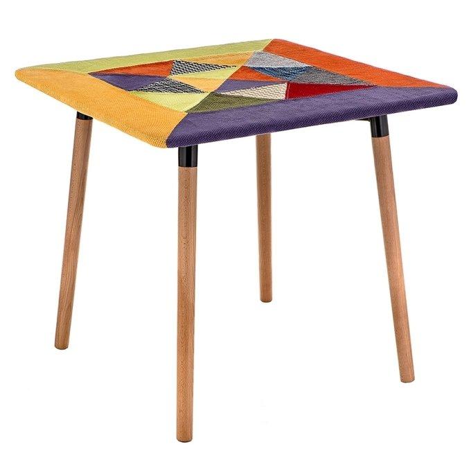 Стол Table multicolor с ножками из массива бука