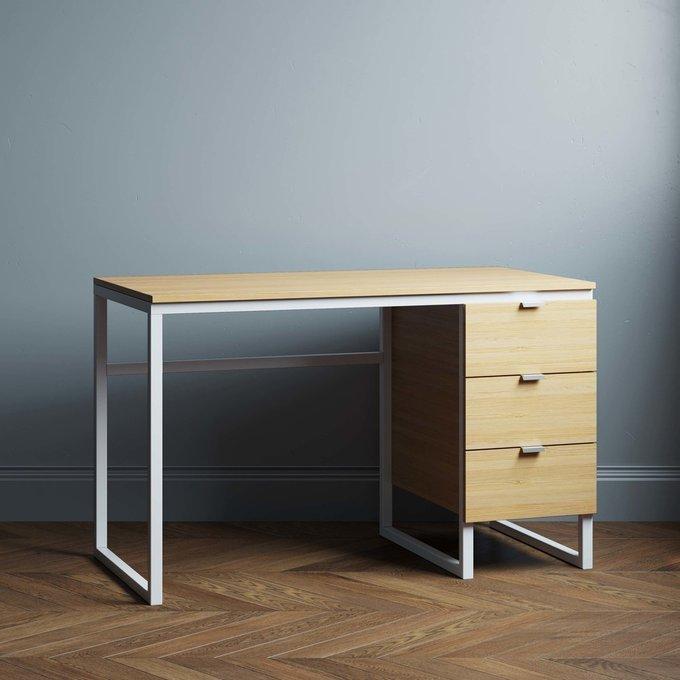 Письменный стол Joseph new 140х70 цвета натуральный дуб