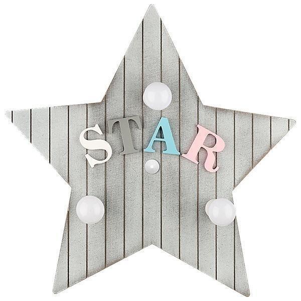Настенный светильник Toy-Star серого цвета