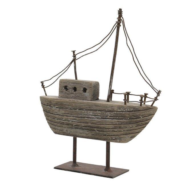 Декор настольный кораблик